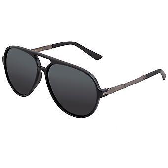 Yksinkertaista Spencer Polarized aurinko lasit-mattamusta/musta