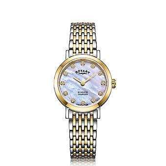 Roterende LB05301-41-D kvinner ' s ' Windsor diamant armbåndsur
