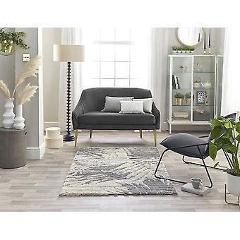 Maison 7864b lt grå vit Beyaz rektangel mattor Plain/nästan vanligt mattor