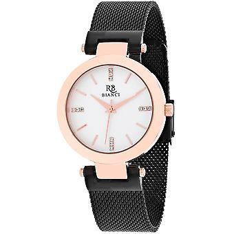Roberto Bianci Femmes apos;s Cristallo Silver Dial Watch - RB0404