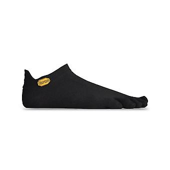 Vibram FiveFingers Athletic No Show Toe Adult Sport Socks 1 Pair Black