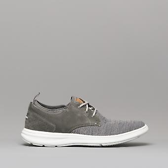 Rockport Zaden Mens Textile Trainers Pewter