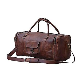 All Night Leather Duffle Bag
