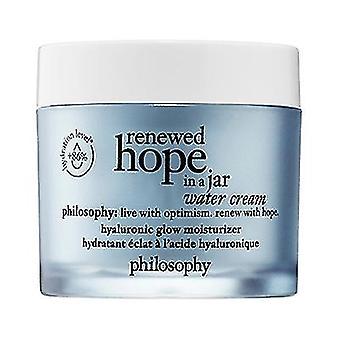 Filosofie vernieuwde hoop in een jar water crème 2oz/60ml