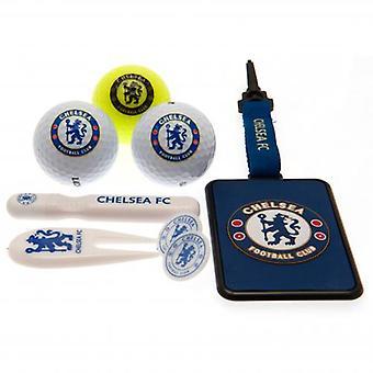 Chelsea Premium Golf Geschenk-Set