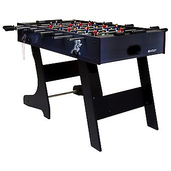 Charles Bentley Premium 4ft Football Table Folding Games Table Foosball Sports
