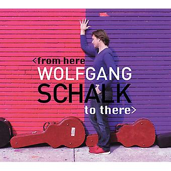 Wolfgang Schalk - From Here to There [CD] USA import