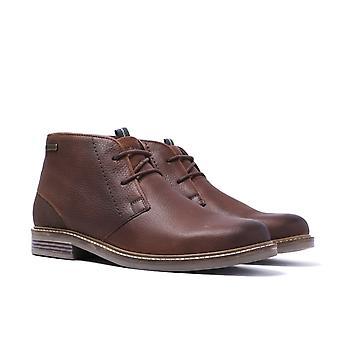 Barbour Readhead Dark Brown Grain Leather Chukka Boots
