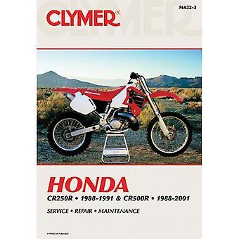 Honda CR250R 88-91 & CR500R 88-01 (Clymer Manuals: Motorcycle Repair)