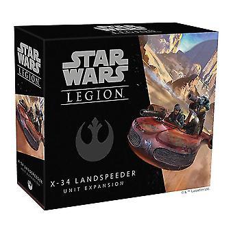 Star Wars Legion X-34 Landspeeder-yksikön laajennus