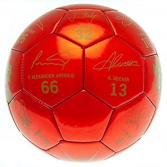 Liverpool FC Champions Of Europe 2019 Signature Football