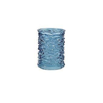 Licht en levend theelicht 7,5x10,5 cm - Monteux Grey Blue