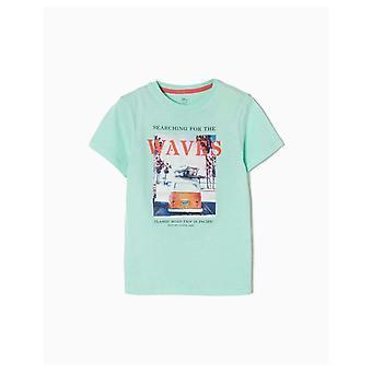 Zippy T-shirt Waves