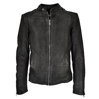 Men's leather jacket Simon