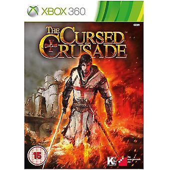 Maudit jeu Xbox 360 croisade