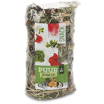 Witte Molen Puur Pauze Hay Roll Flowers & Herbs (Small pets , Hay)