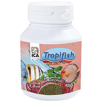 TropiFish Granulado 18 Mm 90Gr (Fish , Food , Warm Water)