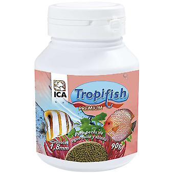 TropiFish Granulado 18 Mm 90Gr (Peces , Comida , Agua caliente)
