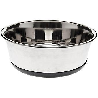 Ferribiella Inox Bowl W. Detach. Rub. Lt. 0,75 (Dogs , Bowls, Feeders & Water Dispensers)