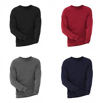 Canvas Unisex Triblend Crew Neck Fleece Collegepusero (280 GSM)