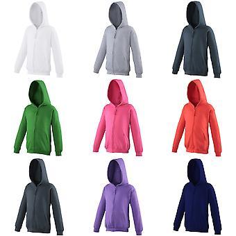 Awdis Kids Unisex Hooded Sweatshirt / Hoodie / Zoodie