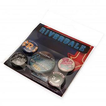 Riverdale Button Badge Set (5 Pieces)