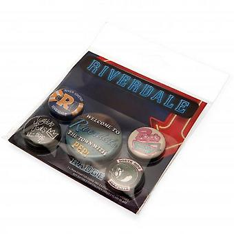Riverdale Button Abzeichen Set (5 Stück)