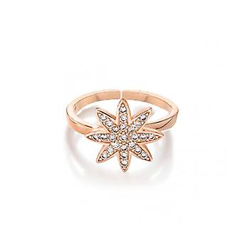Vixi Nova Rose Gold Large Star Verstelbare Ring Dames Sieraden NOVA-RL. R