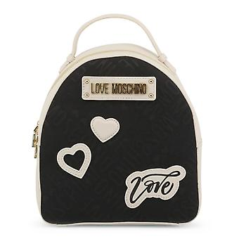 Love Moschino Original Women Spring/Summer Backpack/Rucksack - Black Color 33820
