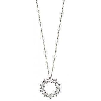 Joshua James Allure Silver Flower Garland Pendant