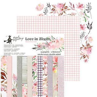 "Piatek13 6""x6"" Paper Pad - Love in Bloom, 24 Sheets"