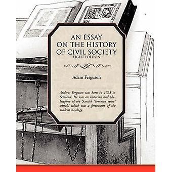 Un essai sur l'histoire de la société civile par Ferguson & Adam