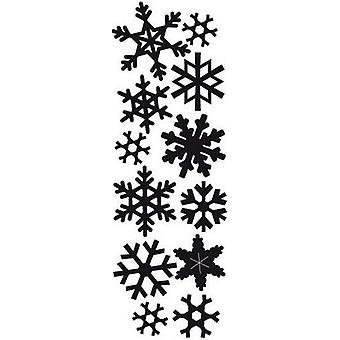 Marianne Design Craftables Cutting Dies - Punch Die Snowflakes CR1335