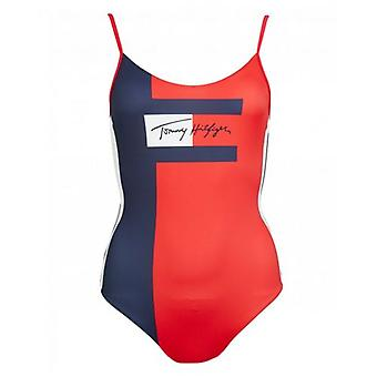 Tommy Hilfiger Swimwear Flag Logo Swimsuit