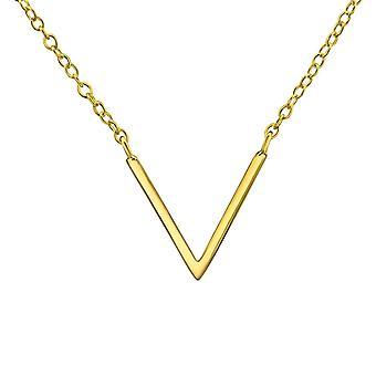 Plain Inline - 925 Sterling Silver Plain Necklaces - W22351x