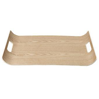Blomus tray WILO hardwood with anti-slip surface