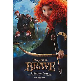 Brave Original Movie Poster - Double Sided Advance Style B