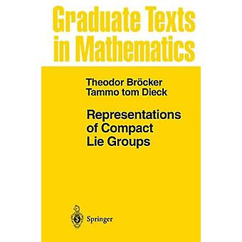 Representations of Compact Lie Groups by Theodor Brocker - 9783540136