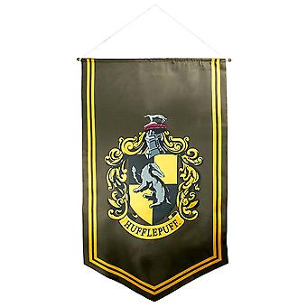 Bannière en satin Harry Potter Hufflepuff