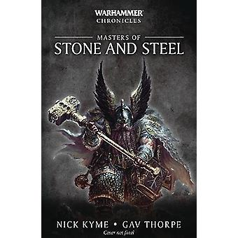Masters of Stone and Steel by Nick Kyme - 9781784967703 Book