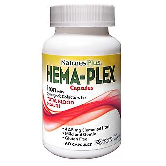 Nature's Plus Hema-plex Vegicaps 60 (3772)