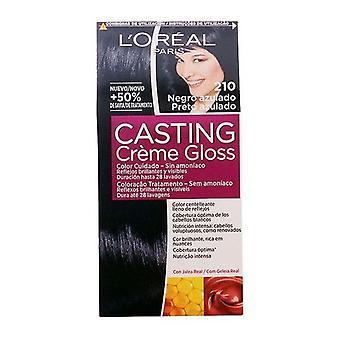 Färga ingen ammoniakgjutning Creme Gloss L'Oreal Make Up Blue Black