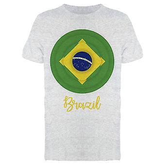 جولة البرازيل العلم تي الرجال & apos;s -الصورة من قبل Shutterstock