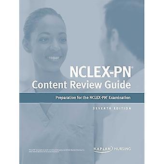 NCLEX-PN Content Review Guide by Kaplan Nursing - 9781506245461 Book