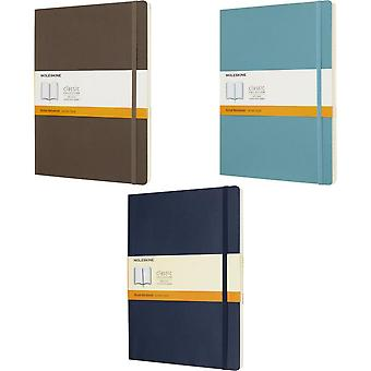 Moleskine Classic XL Soft Cover Ruled Notebook