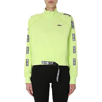 Fila 687658b16 Kvinder's Grøn Bomuld Sweatshirt