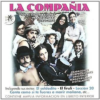 La Compania - Todas Sus Grabaciones 1971-1976 [CD] USA import