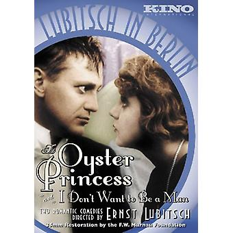Oyster Princess & I Don't Want to Be a Man [DVD] USA import
