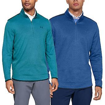 Under Armour Mens Sweaterfleece 1/2 Zip Water Repellent Lightweight Sweater
