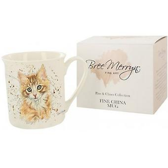 Bree Merryn Ginger Cat Mug